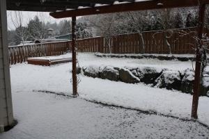 Portland, Oregon snow