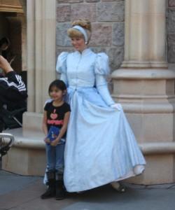Cinderella in Disneyland
